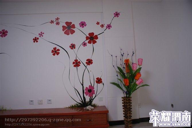 手绘沙发墙、电视背景墙、床头墙、儿童房、客厅、餐厅、楼梯