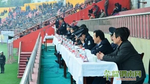 韩城市召开2012年公拘公捕公判大会 视频 组图 百姓生活图片