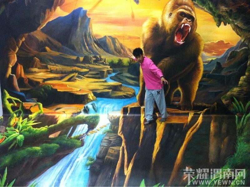 墙绘彩绘还有一些3D壁画。也许在许多装室内设计diy软件有哪些图片