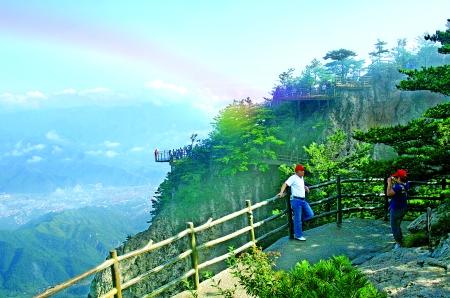 龙峪湾风景区图片