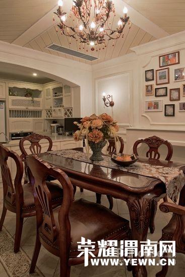 餐桌椅搭配效果图大全   家具 从家用餐桌网学习选购家用餐桌